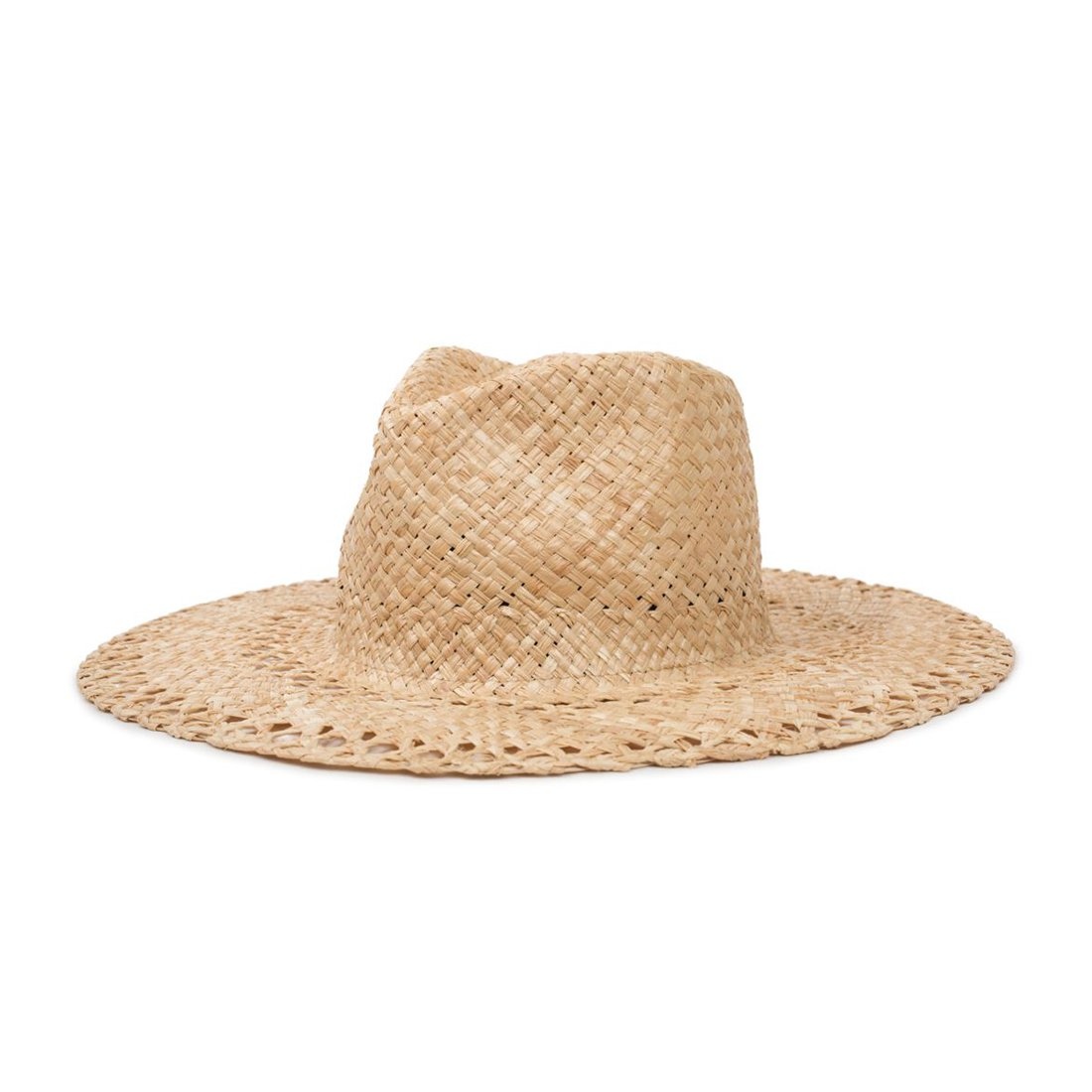 BRIXTON #HAMPTON FEDORA -TAN (Women's)