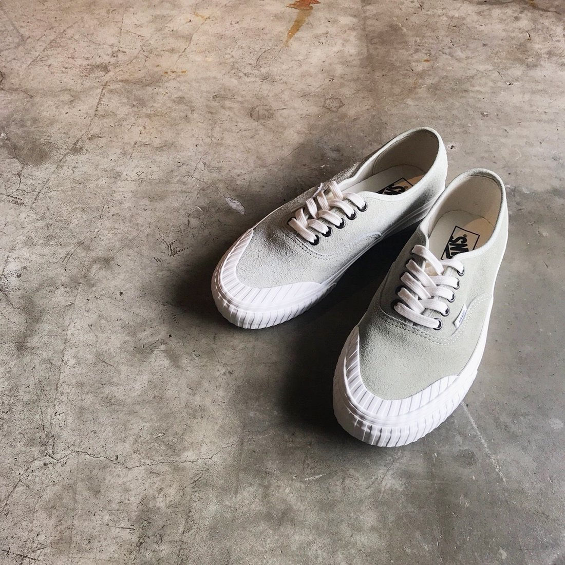 VANS #AUTHENTIC 138 -Vintage Military/Desert Sage
