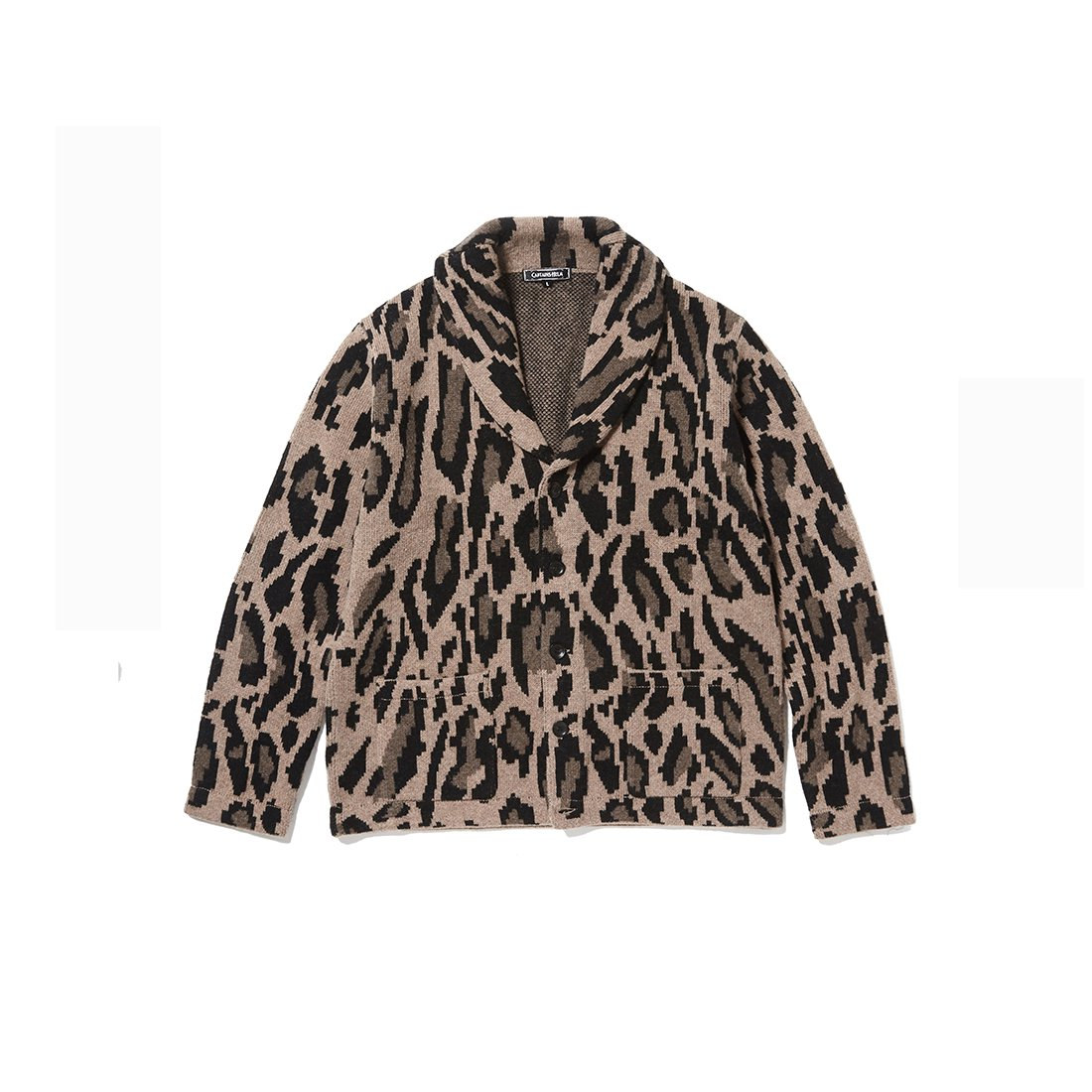 CAPTAINS HELM #LEOPARD CARDIGAN