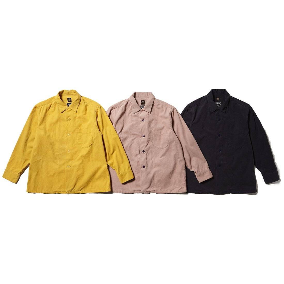 TOWN CRAFT x CAPTAINS HELM    #CORDUROY SHIRT
