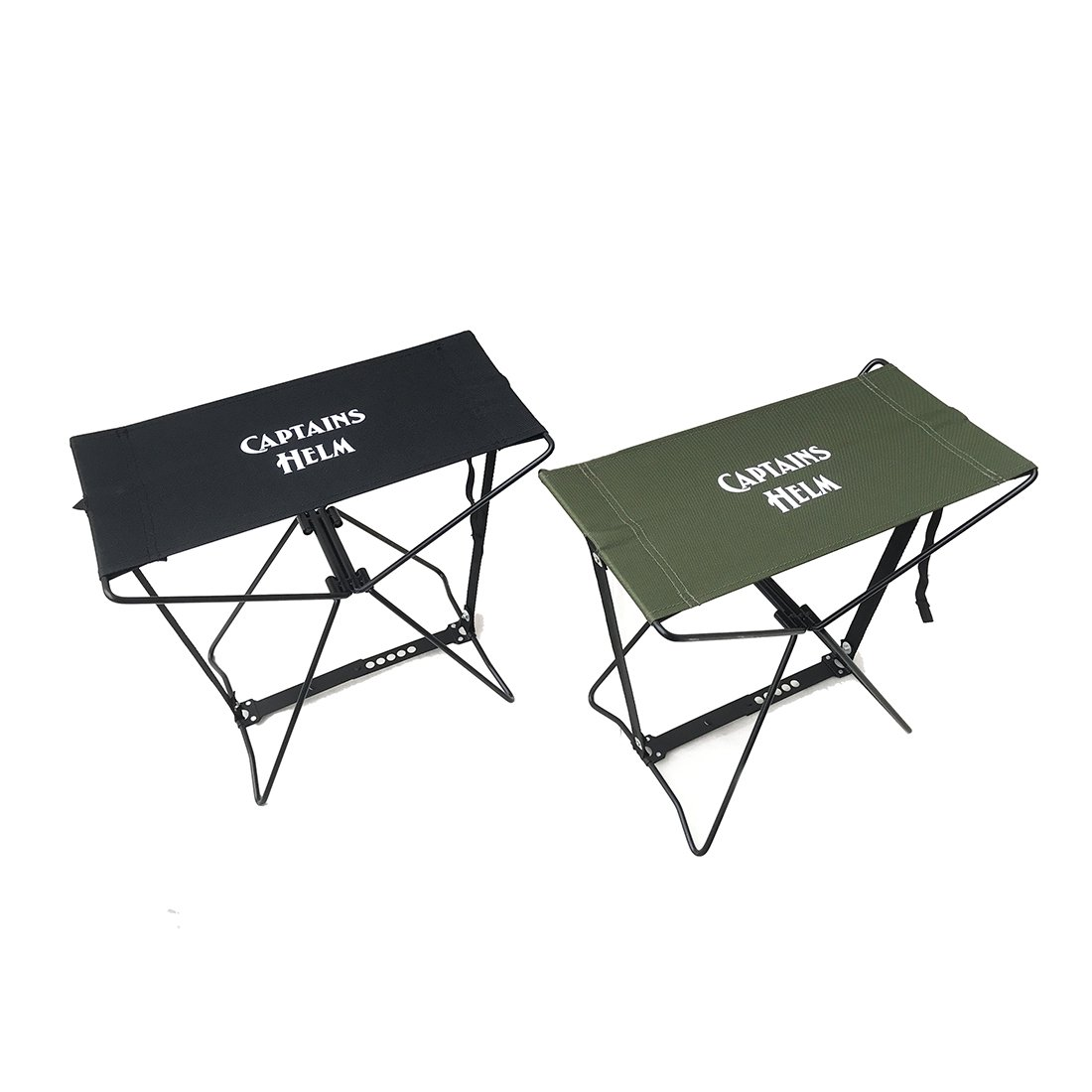 CAPTAINS HELM    #FOLDING CAMP STOOL