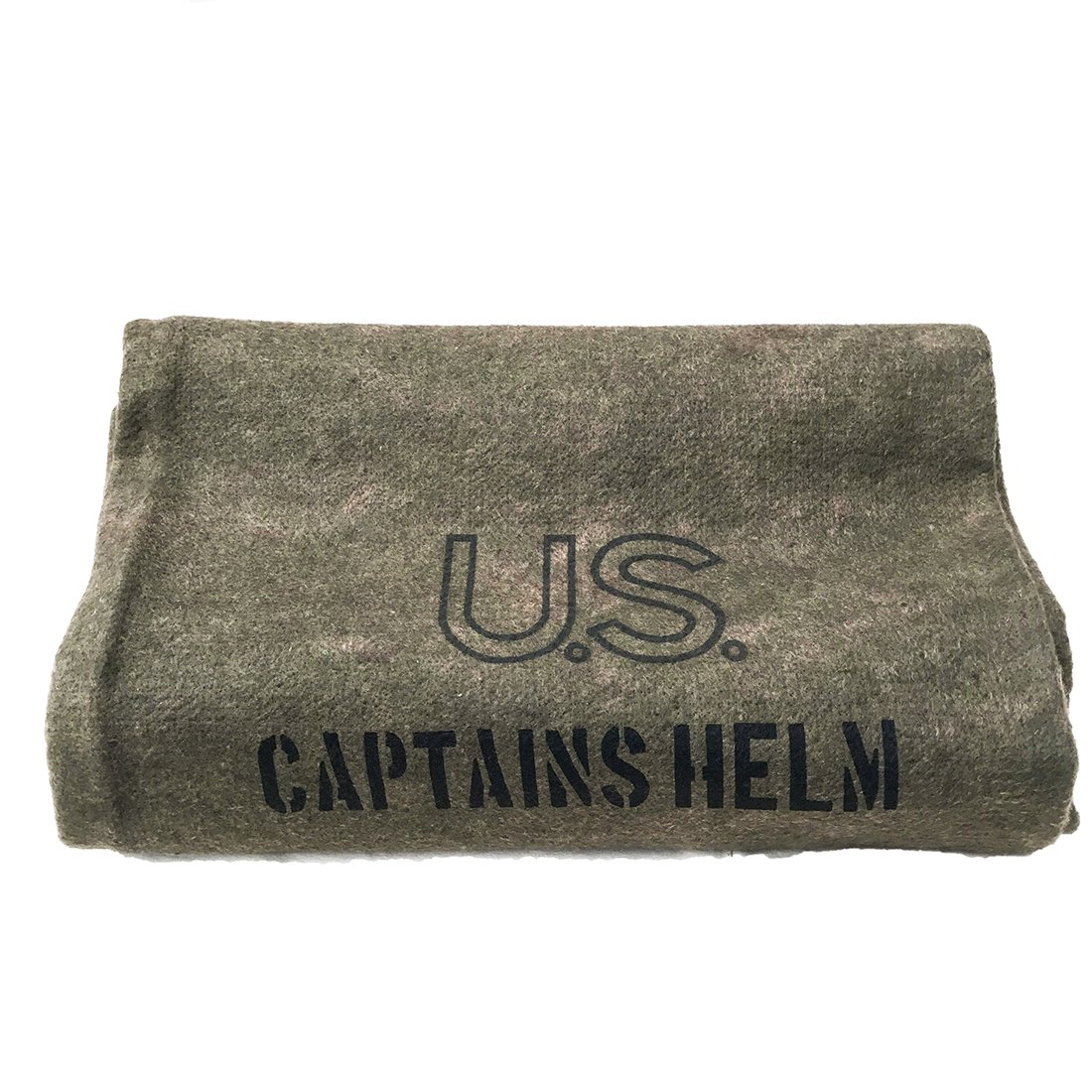 CAPTAINS HELM    #U.S. WOOL BLANKET
