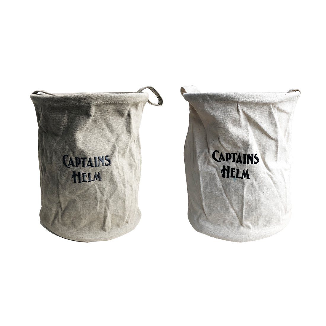 CAPTAINS HELM    #CANVAS MILITARY BUCKET