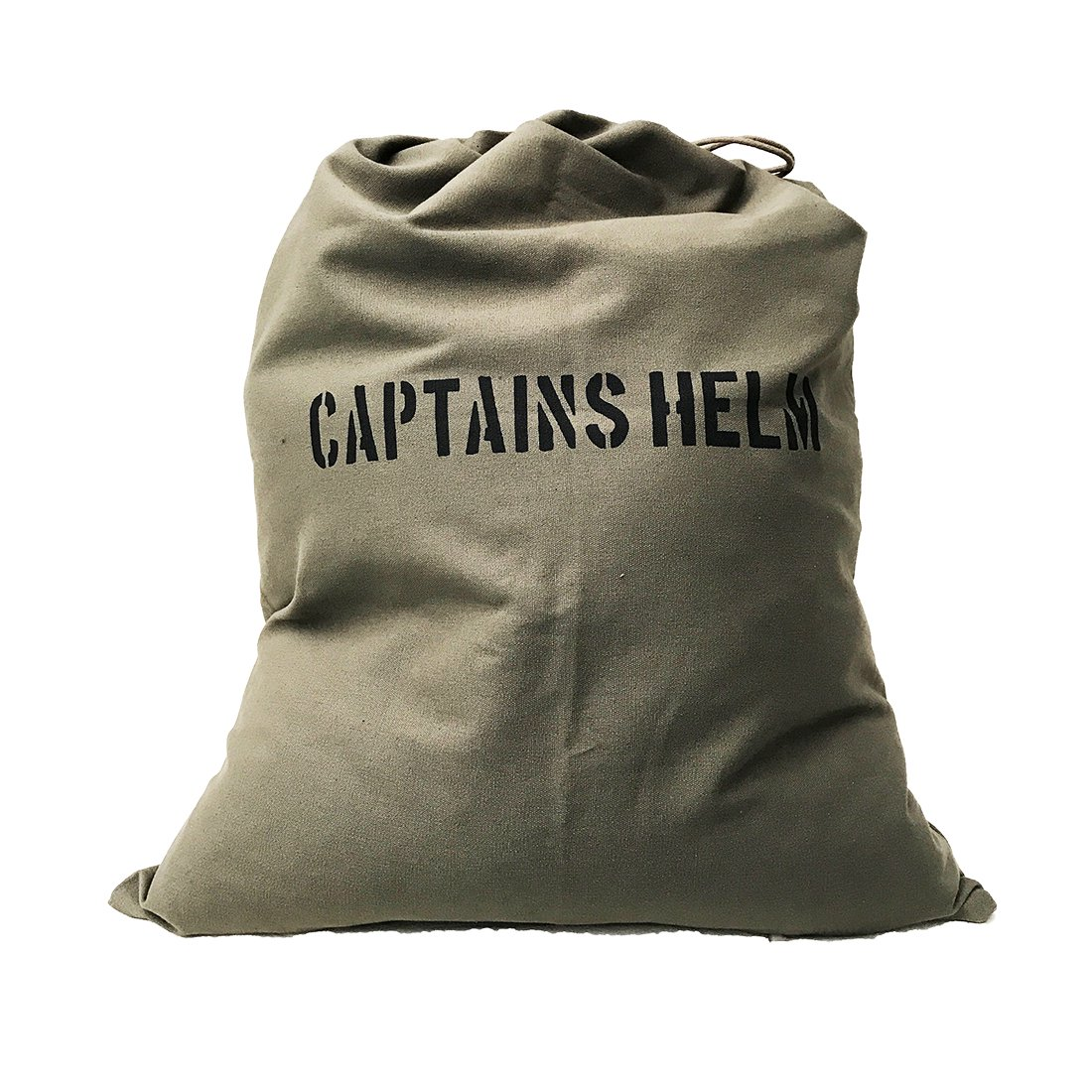 CAPTAINS HELM    #CANVAS MILITARY BAG (L)