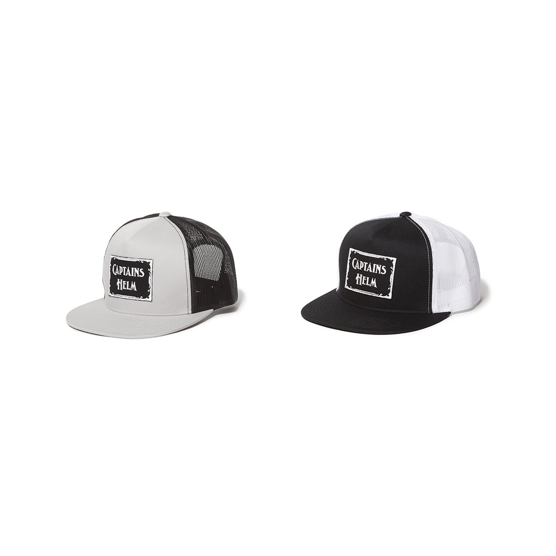 CAPTAINS HELM #LOGO WP MESH CAP