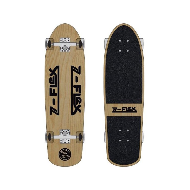 Z-FLEX Skateboards #30INCH RETRO CLASSIC COMPLETE -WOOD