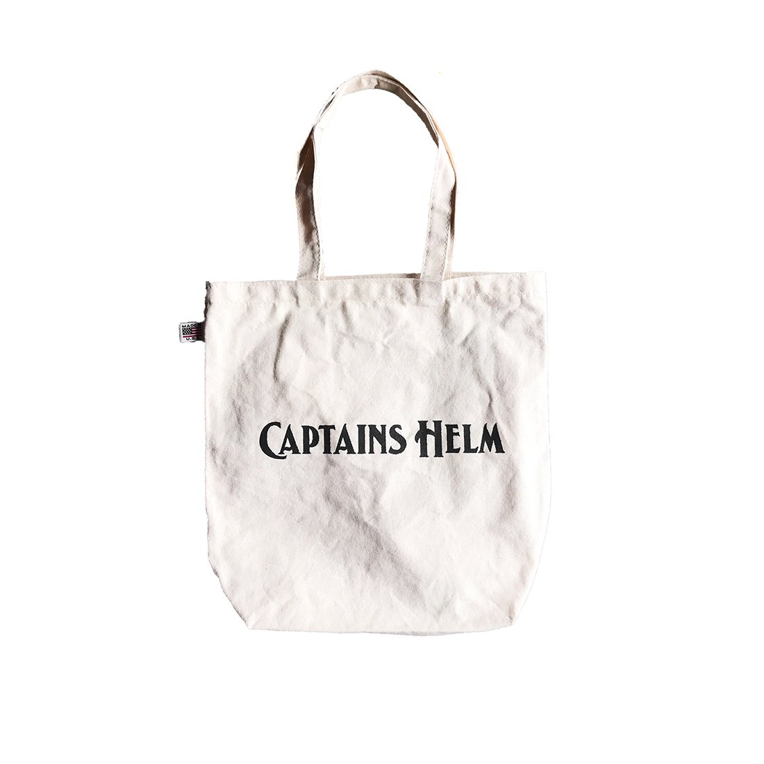 CAPTAINS HELM #USA MADE LOGO TOTE
