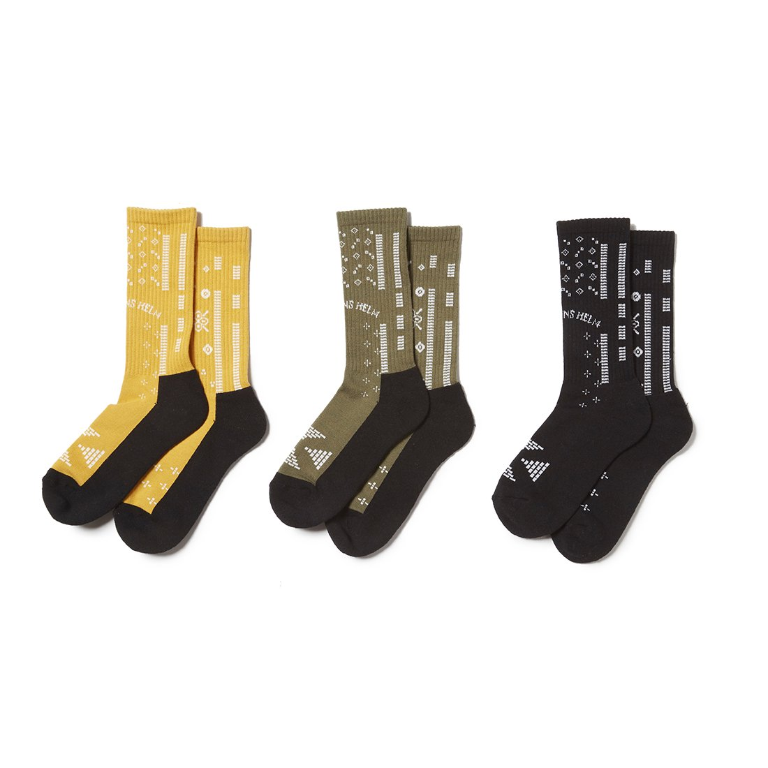 CAPTAINS HELM #BANDANA SOCKS