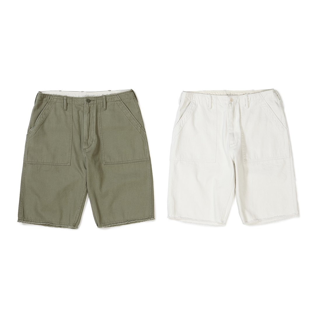 CAPTAINS HELM #BAKER CUT-OFF SHORTS