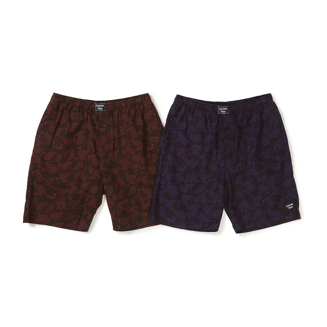 CAPTAINS HELM #PAISLEY SEERSUCKER SHORTS