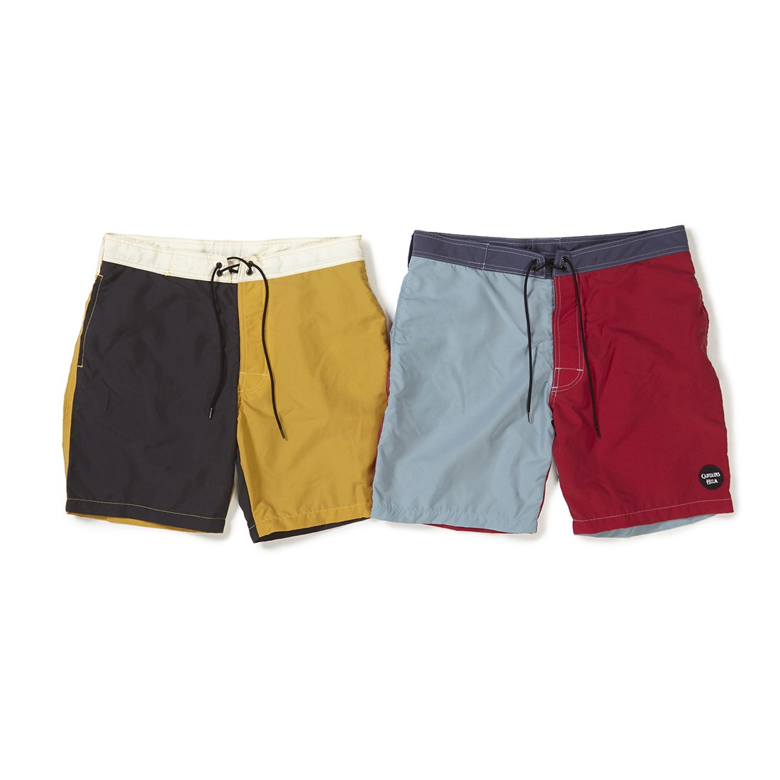 CAPTAINS HELM #CONTRAST PANEL BOARD SHORTS