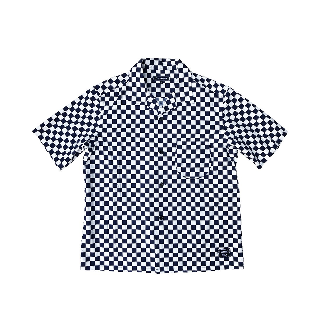 CAPTAINS HELM #CH CHECKER SS SHIRTS