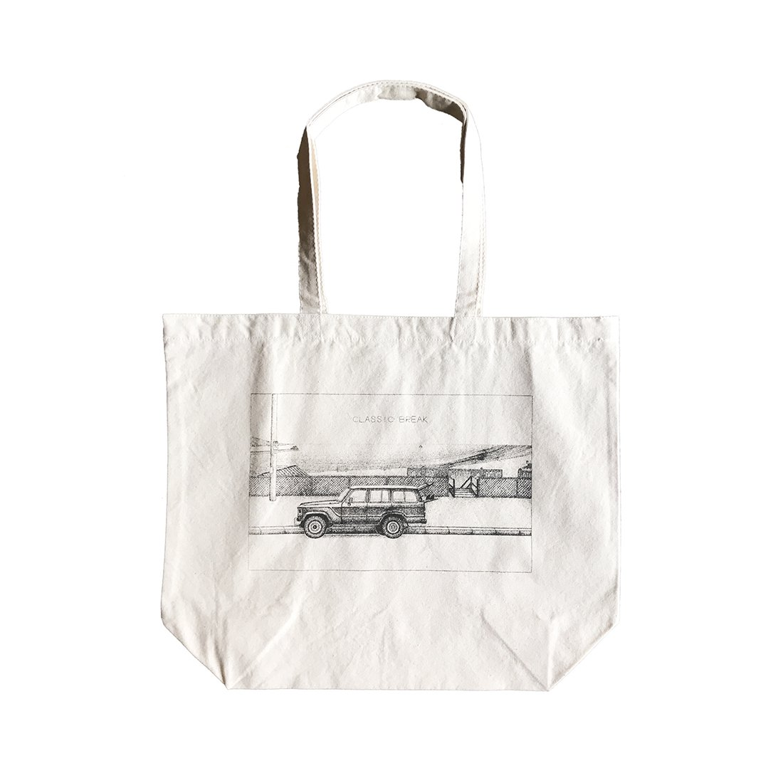 BANANA YAMAMOTO × CAPTAINS HELM #CLASSIC BREAK TOTE BAG