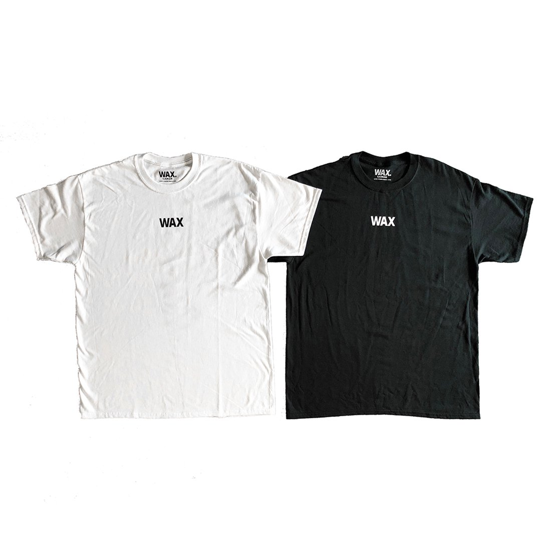 THE HARD MAN × CAPTAINS HELM #WAX BASIC S/S TEE
