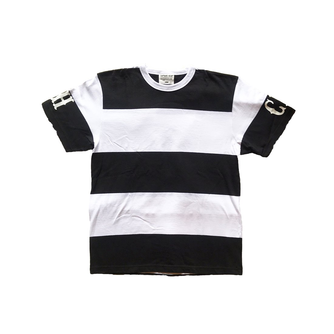 CAPTAINS HELM #LOCALS BORDER TEE