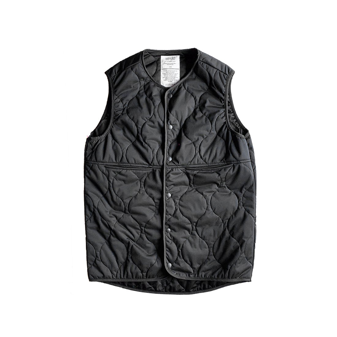 CAPTAINS HELM #Thinsulate LEVEL5 VEST -Black