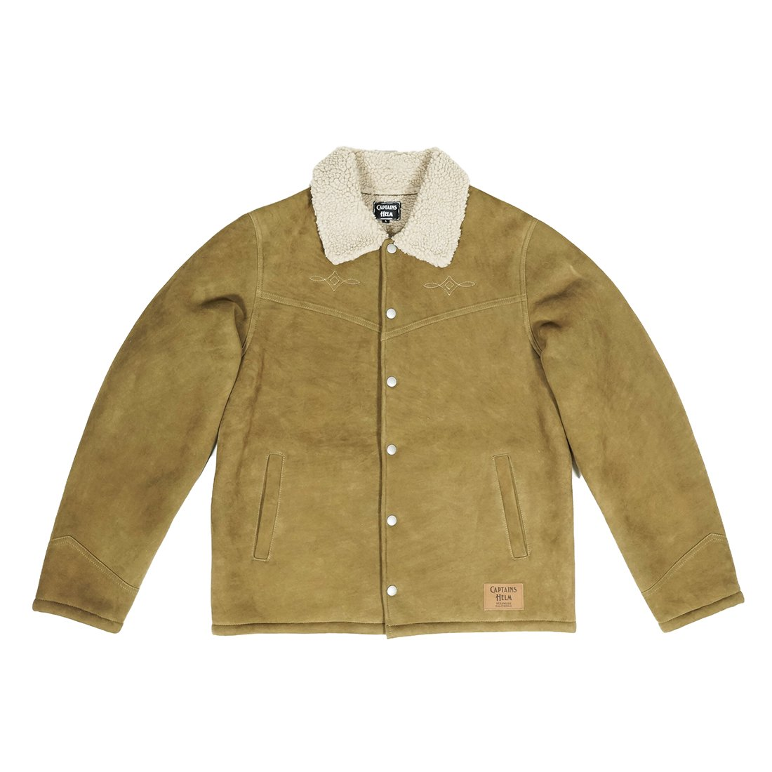 CAPTAINS HELM #SUEDE BOA RANCH COAT