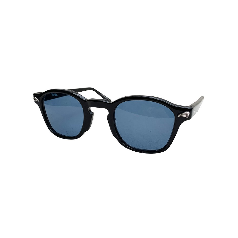 GROOVER × CAPTAINS HELM #DOLL   Black Flame / Blue Polarized Lens