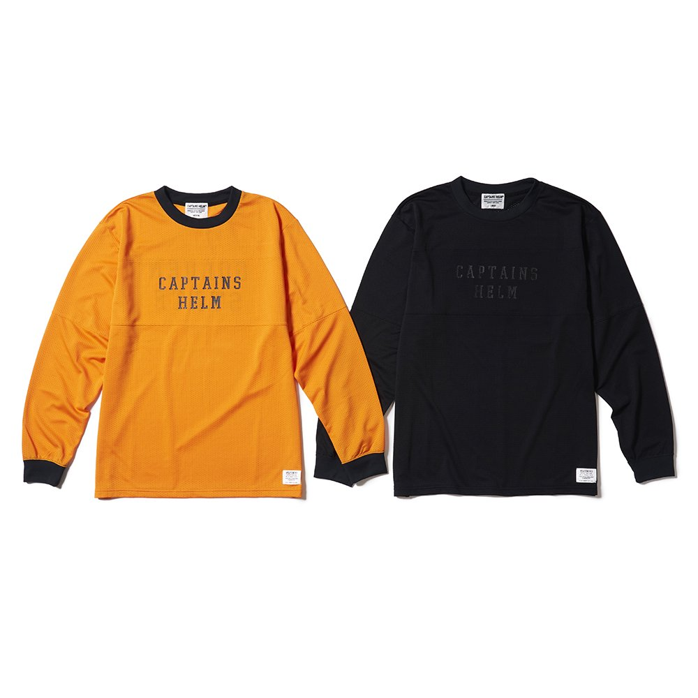 CAPTAINS HELM #GOLDEN STATE MESH L/S TEE