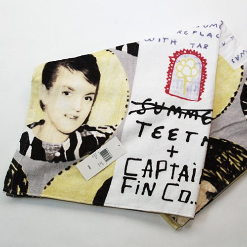 Captain Fin co.×SUMMER TEETH Beach Towel
