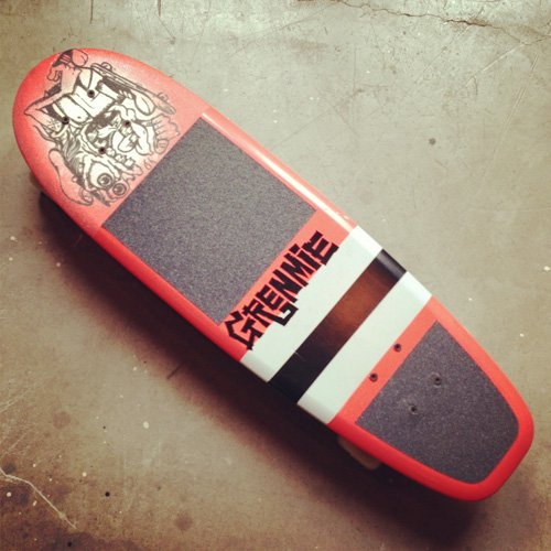 GREMMIE skateboards  -ORANGE