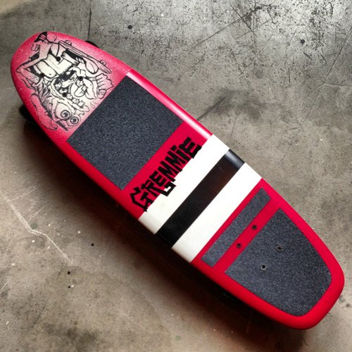 GREMMIE skateboards  -RED