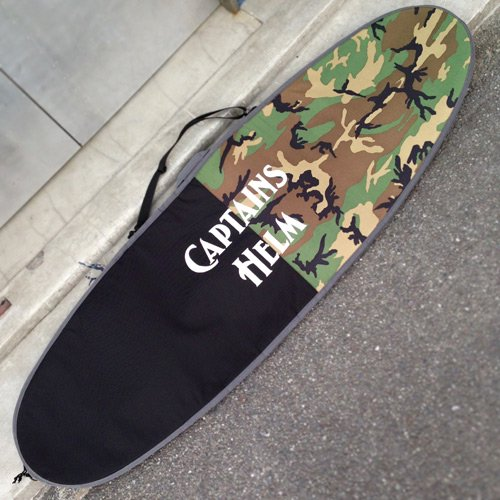 CAPTAINS HELM Original HARD CASE -Mid Length (CAMO x BLACK)