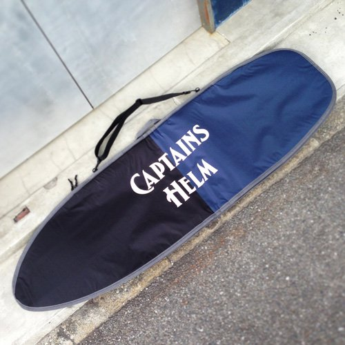 CAPTAINS HELM Original HARD CASE -Short Board (NAVY x BLACK)