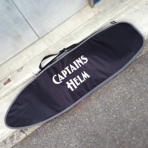 CAPTAINS HELM Original HARD CASE -Short Board (ALL BLACK)