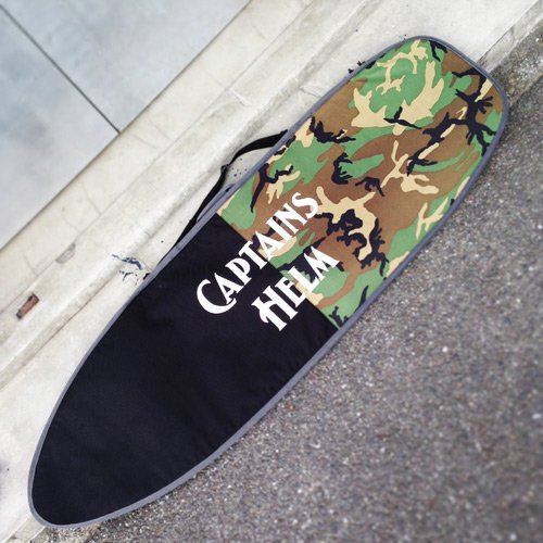 CAPTAINS HELM Original HARD CASE -Short Board (CAMO x BLACK)