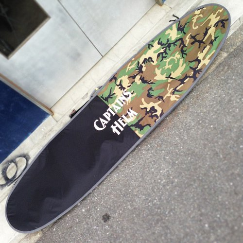 CAPTAINS HELM Original HARD CASE -Long Board (CAMO x BLACK)