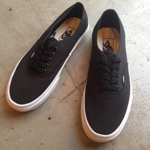 vans authentic black mono sale