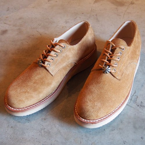 CAPTAINS HELM × SANTA ROSA  #DIXON Oxford Suede Boots -BROWN