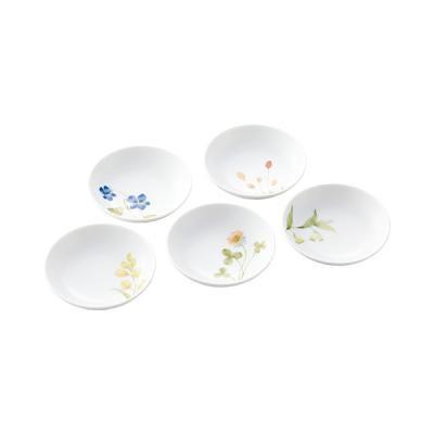 ノリタケ 食器 あづまの路 小皿セット(5枚)(絵変り)