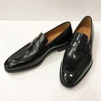 Agnelli & Sons 【アニエッリ・アンド・サンズ】 ダイナイトソール仕様・カーフ・コインローファー (Nero)<img class='new_mark_img2' src='//img.shop-pro.jp/img/new/icons41.gif' style='border:none;display:inline;margin:0px;padding:0px;width:auto;' />