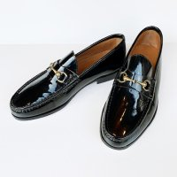 Il Mocassino 【イル・モカシーノ】 パテントレザー・ビットローファー (Vernice/Nero)<img class='new_mark_img2' src='//img.shop-pro.jp/img/new/icons41.gif' style='border:none;display:inline;margin:0px;padding:0px;width:auto;' />