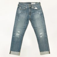 AG 【エージー】  『EX-BOYFRIEND SLIM 11Y』 クロップドレングス・カットオフターンナップ・ジーンズ (Slouchy Slim)<img class='new_mark_img2' src='//img.shop-pro.jp/img/new/icons41.gif' style='border:none;display:inline;margin:0px;padding:0px;width:auto;' />