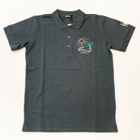 HOMEWARD 【ホームワード】 『Polo Sem Garment Dye Wool Embroidery