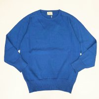 William Lockie 【ウイリアム・ロッキー】 『8277』Pure Real Cotton ラウンドネックニットプルオーバー (Royal)<img class='new_mark_img2' src='https://img.shop-pro.jp/img/new/icons41.gif' style='border:none;display:inline;margin:0px;padding:0px;width:auto;' />
