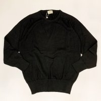 William Lockie 【ウイリアム・ロッキー】 『8277』Pure Real Cotton ラウンドネックニットプルオーバー (Black)<img class='new_mark_img2' src='//img.shop-pro.jp/img/new/icons41.gif' style='border:none;display:inline;margin:0px;padding:0px;width:auto;' />