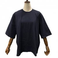 kowtow【コウトウ】『Oversized Boxy Tee』 ハーフスリーブ・クルーネックボックスTシャツ (Navy)<img class='new_mark_img2' src='//img.shop-pro.jp/img/new/icons41.gif' style='border:none;display:inline;margin:0px;padding:0px;width:auto;' />