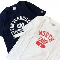 Champion 【チャンピオン】 アスレティックプリント・Reverse Weave T-Shirt ヘビーウェイトジャージーTEE (全2色)<img class='new_mark_img2' src='//img.shop-pro.jp/img/new/icons41.gif' style='border:none;display:inline;margin:0px;padding:0px;width:auto;' />