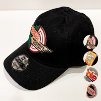 Agnelli & Sons 【アニエッリ・アンド・サンズ】 『WORKER』 NEWERA6PANEL コットンツィルキャップ (全4種)