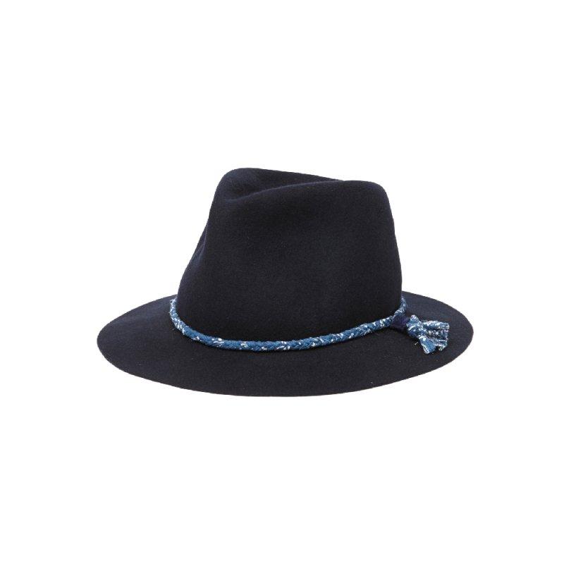 "【RADIALL】(ラディアル)""HARVEST ROLLABLE FEDORA HAT""フェドラハット【BLACK】【送料無料】"