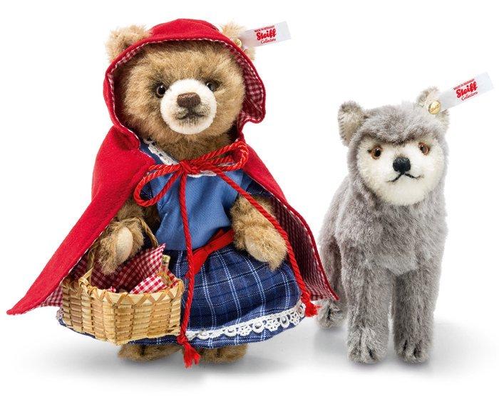 シュタイフ【2017年新作予約】赤ずきんちゃんと狼のセット 16� EAN021350【送料無料】