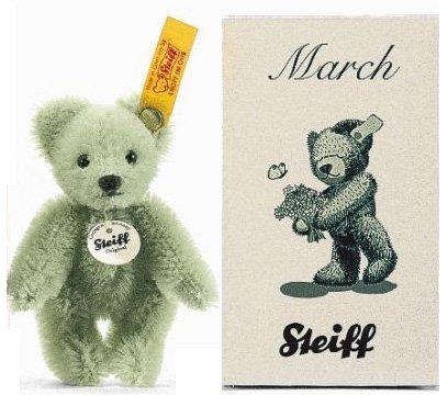 【即納商品】シュタイフ マッチボックスシリーズ テディベア マーチ(3月) 8cm EAN662867 【送料無料】