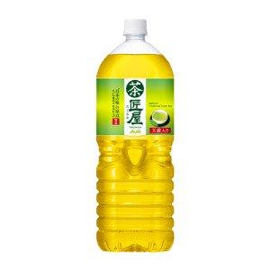 アサヒ 匠屋 緑茶2L×6本(12本まで1配送)【10月27日出荷開始】