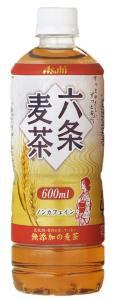 アサヒ 六条麦茶 (増量ボトル)600ml×24本(48本まで1配送)【10月27日出荷開始】