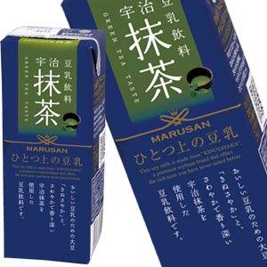 【8月4日出荷開始】ひとつ上の豆乳 宇治抹茶 200ml紙パック×24本【2ケース以上購入で送料無料】