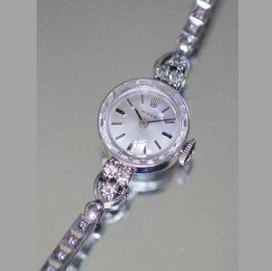 ロレックス レディース アンティーク腕時計 ダイヤモンド